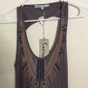 Cecico Maxi Dress with Open Back